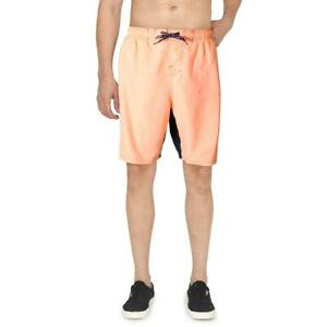 Nike Mens Orange Rift Vital Regular Fit Repel Swim Trunks XL  3710