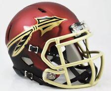FSU Florida State Seminoles Garnet NCAA Speed Riddell Mini Football Helmet