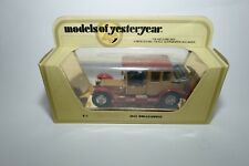 Matchbox Models of Yesteryear Y7 1912 Rolls-Royce Gold and Red