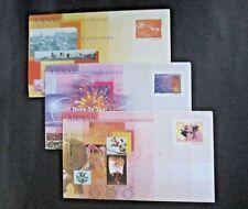 """Singapore - """"MILLENNIUM ~ 2000"""" Set of 3 Mint Aerogrammes !!"""