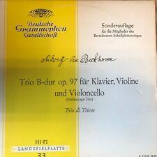 Beethoven - Trio B-dur op.97 für Klavier, Violine, Violoncello - Trio di Trieste