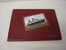 Álbum Fotos O Folios Postales Antiguo Souvenir Del Transbordador Francia Rosy