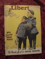 LIBERTY Magazine March 16 1940 James M. Cain Rene Kraus Vingie E Roe Royal Brown