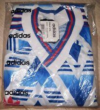 Vintage adidas camiseta Camisa 90er L-XL rythm Jersey manchester 90s rostock