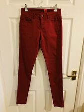 Red New Look Yes Yes Skinny Jeans Size 8 (3726)