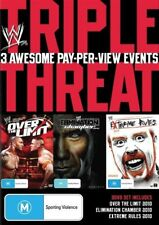 WWE - Triple Threat Elimination Chamber, Over The Limit, Extreme Rules DVD - NEW