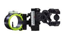 2017 Black Gold Ascent Verdict Single Pin (.019) RH Bow Sight Black Model# AV1