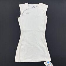 Adidas Womens Tennis Lawn Dress White Size XS