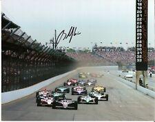 2004 BUDDY RICE signed INDIANAPOLIS 500 HERO 8by10 PHOTO CARD INDY CAR HONDA WIN
