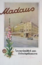 Madaus Arzeimittel aus Frischpflanzen Anzeige Illustrierte Zeitung 1941 G-4628