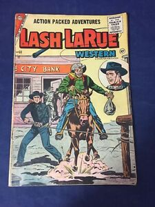 Golden Age Lash Larue Western 60, 1956 Charlton Comics
