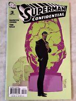 Superman Confidential #3 (DC 2007) Darwyn Cooke NM 9.4