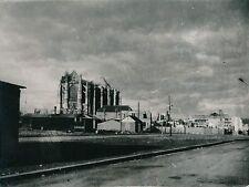 BEAUVAIS c. 1938 - 3 Photos Cathédrale Architecture Sculptures Oise - L 164