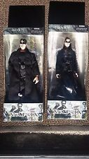 The Matrix Neo and Trinity 12 Inch Action Figures N2 Toys