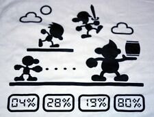 """Game And Smash"" Super Smash Bro Classic Sonic Link Women's Large Shirt Theyetee"