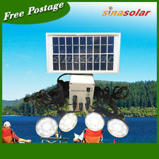 Solar Light System with 4pcs LED hanging Light for outdoor/farm