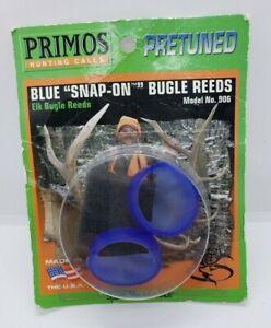 Primos Blue Snap-On Bugle Reeds 906 Elk Bugle Reeds (M-1)