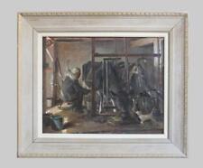 "William Francis Vandeveer Kughler; ""Cats & Cows"" Lot 165"