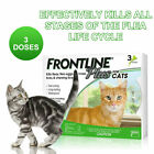 Frontline Plus for Cats Flea and Tick Control and Treatment 3 Doses