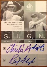 2002 SP Authentic Golf - Sign of the times dual - Chi Chi Rodriguez & Floyd