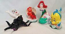 Vintage Disney Little Mermaid Sebastian Flounder Ursula Set Japan