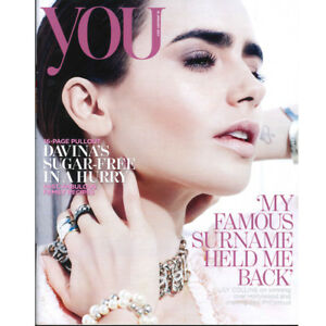You Magazine: Warren Beatty, Lily Collins, Syrian Refugee 15.1.17