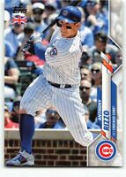 2020 Topps UK Edition #14 Anthony Rizzo Chicago Cubs