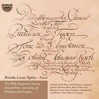 Brenda Lucas Ogdon (piano) - J.S. Bach: The Well-Tempered Klavier [CD]