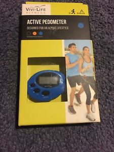 VIVI-LIFE ACTIVE PEDOMETER DESIGNED FOR AN ACTIVE LIFESTYLE