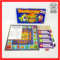 The Hamburger Game Vintage Retro Game 1989 Family Board Game Spears
