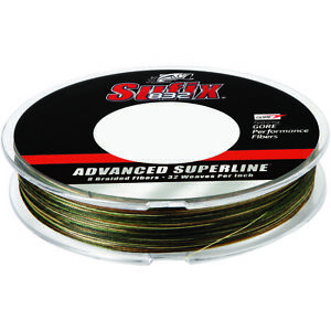 Sufix 300 Yard 832 Advanced Superline Braid Fishing Line - Camo