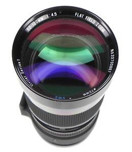 Vivitar Series 1 90-180mm f4.5 Flat-Field Macro Zoom Minolta SR mount  #22700867