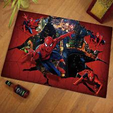 SpiderMan Area Rug Carpet 3D Print Anti-Skid Rug Home Living Room Floor Mats