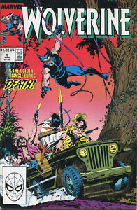 Marvel Comic: Wolverine No 6: March 1989: Hunter's Moon!