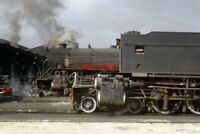 PHOTO  SOUTH AFRICAN RAILWAYS -  GM CLASS 4-8-2+2-8-4 GARRATT AND A CLASS 15C 4-