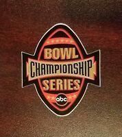Ohio State Buckeyes 2003 Fiesta Bowl Game Worn helmet decal BCS ABC RARE REAL