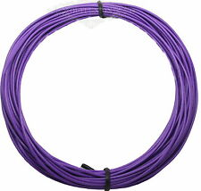 UL-1007 1Pin 22AWG 3Meter Purple Cable Cord Stranded Flexible ElectricPower Wire