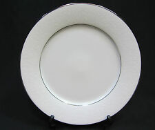 Noritake Contemporary China Tahoe Dinner Plate, White Floral on White 2585