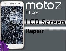 Motorola Moto Z Play XT1635  Droid XT163 Cracked Screen LCD Repair Service