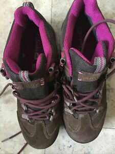 Clarks Active Air Goretex  Rock Size 6 D Brown And Magenta Size Walking Boots