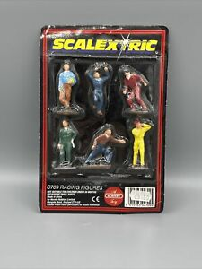 Scalextric factory painted racing figures C709 brand new in pack NOS
