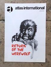 TODESKRALLE DES GRAUSAMEN WOLFES (Werber. '73) - PAUL NASCHY / HORROR / WERWOLF