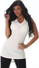 Gestreifte Damen-Trägertops Damenblusen, - Tops & -Shirts in Größe 42