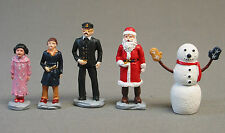 LIONEL POLAR EXPRESS 10TH ANNIVERSARY METAL FIGURES dudes train people 6-37183