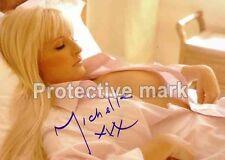 MICHELLE MARSH RARE SIGNED AUTOGRAPH PHOTO REPRINT