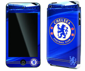 Chelsea Football Club iPod Touch 4 Skin Sticker Official Blues Merchandise New