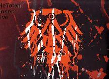 """DIE TOTEN HOSEN """"Live - Krach der Republik"""" Limited 3 VINYL + 2 CD Nummer 2218"""
