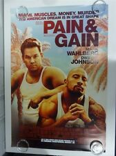 Douleur & Gain Wahlberg Johnson Action Original Affiche Du Film Une 69x102cm