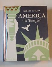 AMERICA The Beautiful SIGNED FIRST EDITION Robert Sabuda