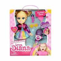 Love, Diana PopStar Toy Kids GLAM YOUTUBE MICROPHONE MUSIC DOLL INTERACTIVE MF